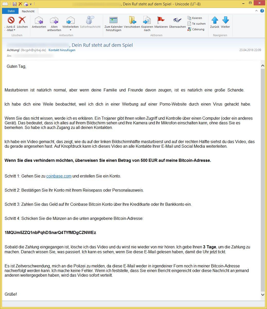 E Mail Dein Ruf Steht Auf Dem Spiel