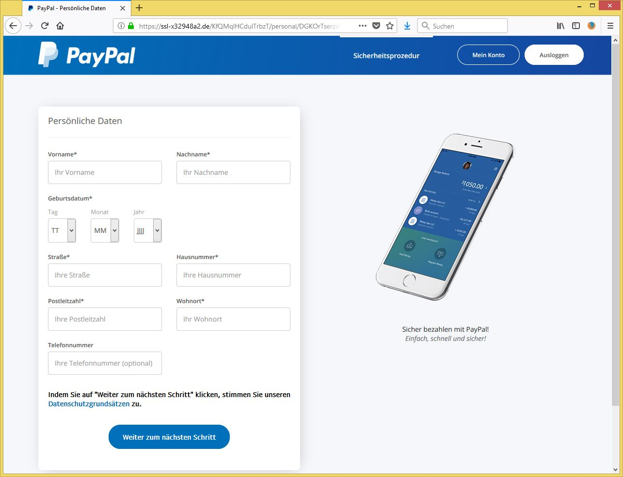 Paypal Konto SchlieГџen Es Ist Ein Problem Aufgetreten