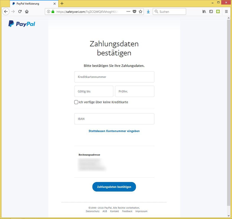 paypal handynummer bestätigen