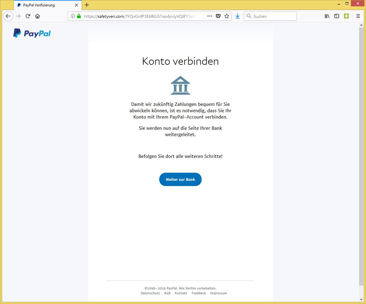paypal mit konto verbinden