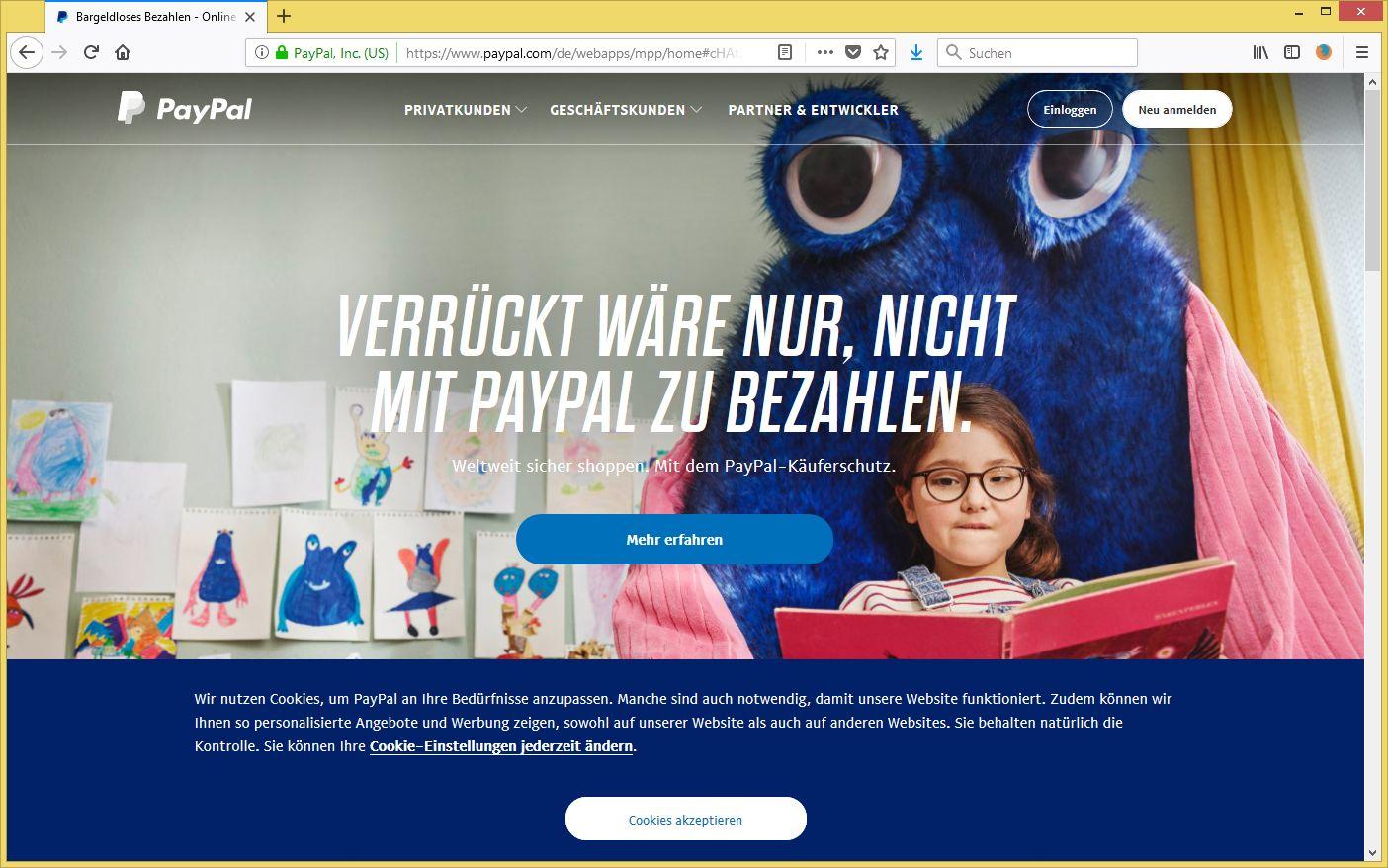 Paypal Identitätsdiebstahl