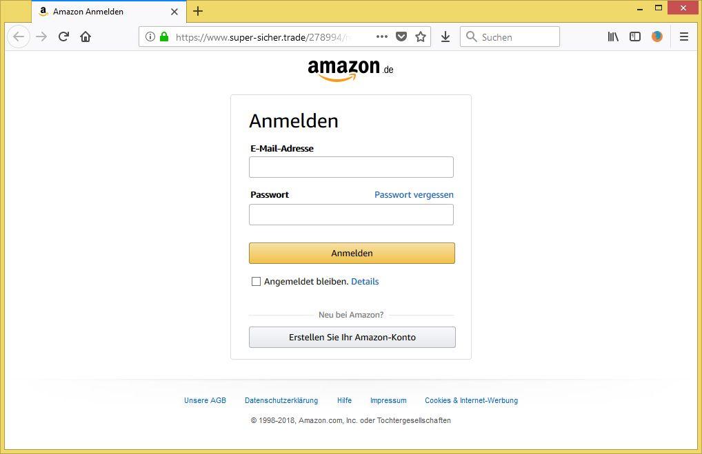 Amazon Konto Wiederherstellen