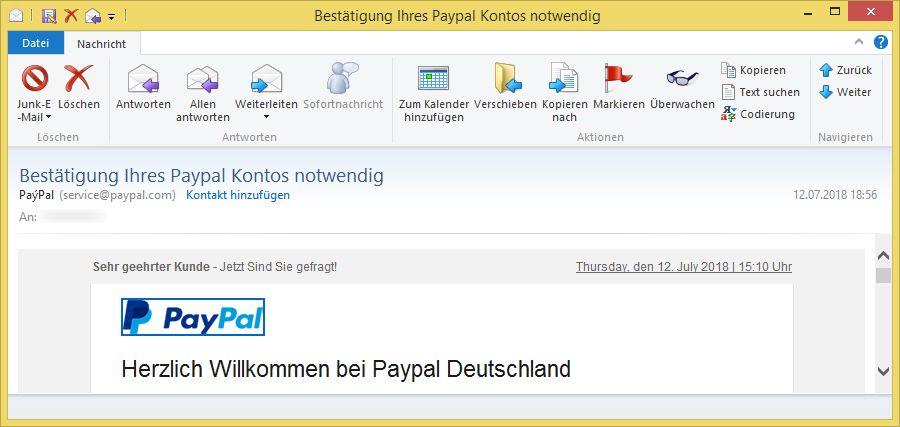 Paypal ГјberprГјfung