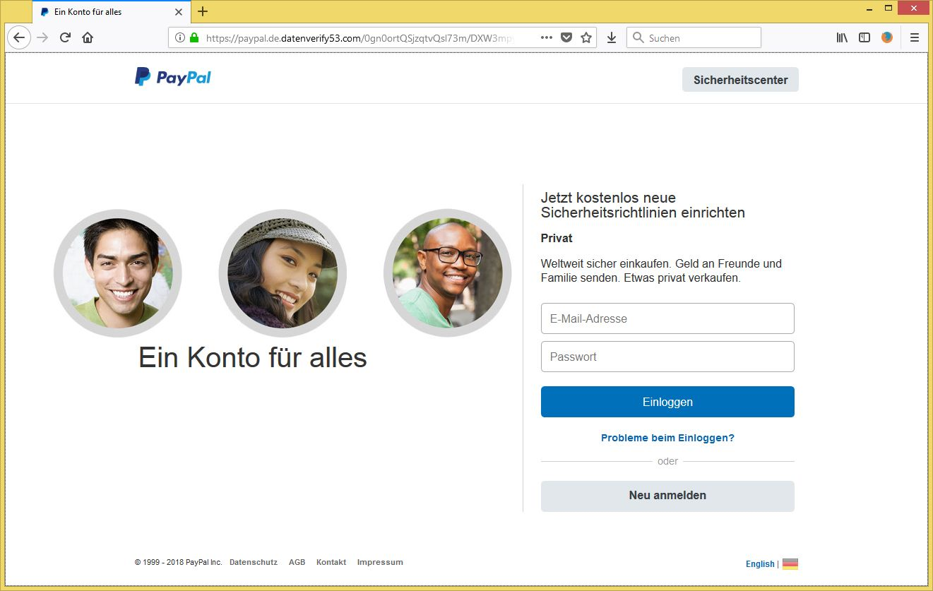best tigung ihres paypal kontos notwendig von pa pal service ist phishing. Black Bedroom Furniture Sets. Home Design Ideas