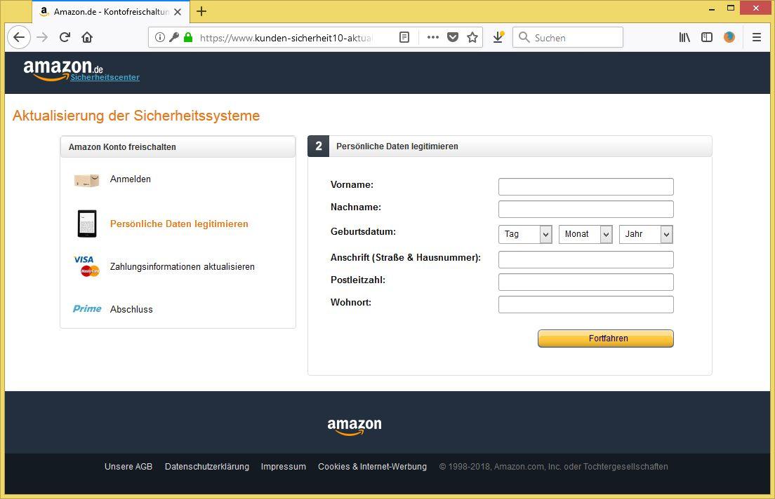 Amazon Zahlungsquelle Veraltet
