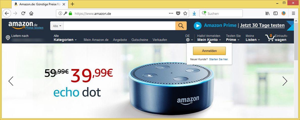 verdachtige anmeldung von kundenservice amazon info xtreme ist phishing vorsicht e mail. Black Bedroom Furniture Sets. Home Design Ideas