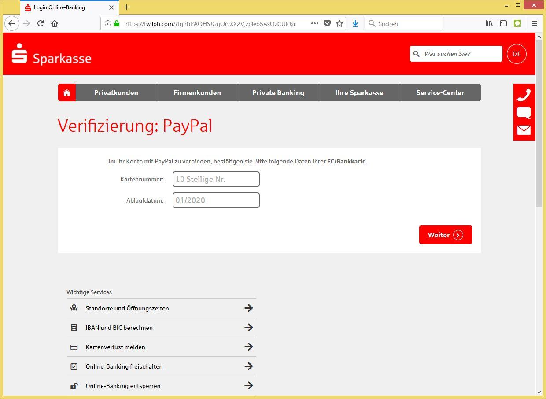Verifizierung Paypal 2020