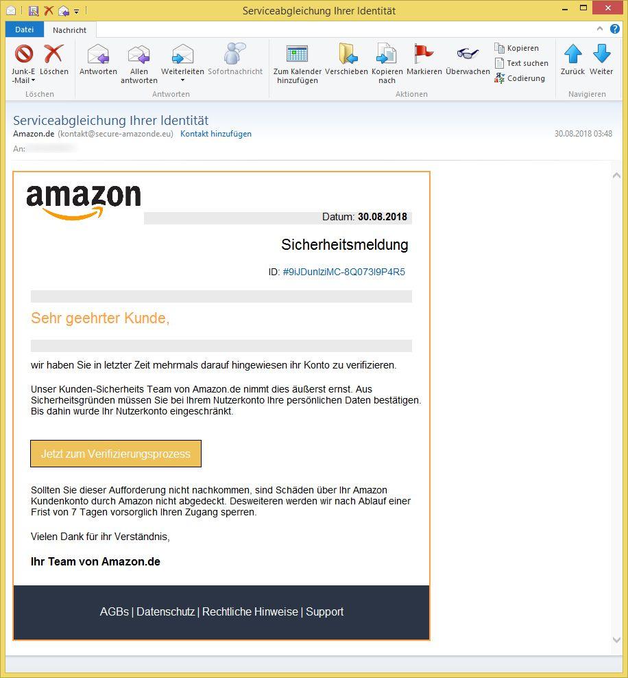 Kontakt Zu Amazon Email