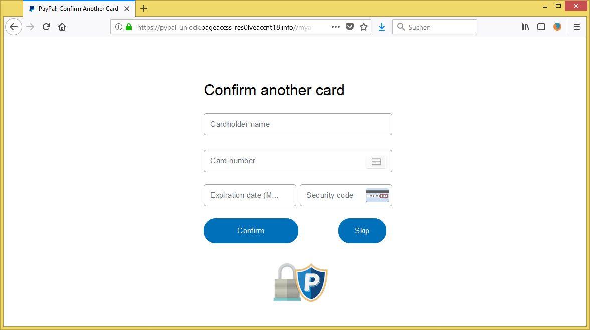 Paypal Identitätsnachweis Hochladen