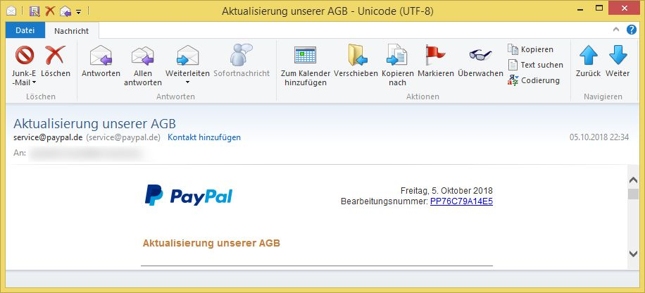 Paypal Agb