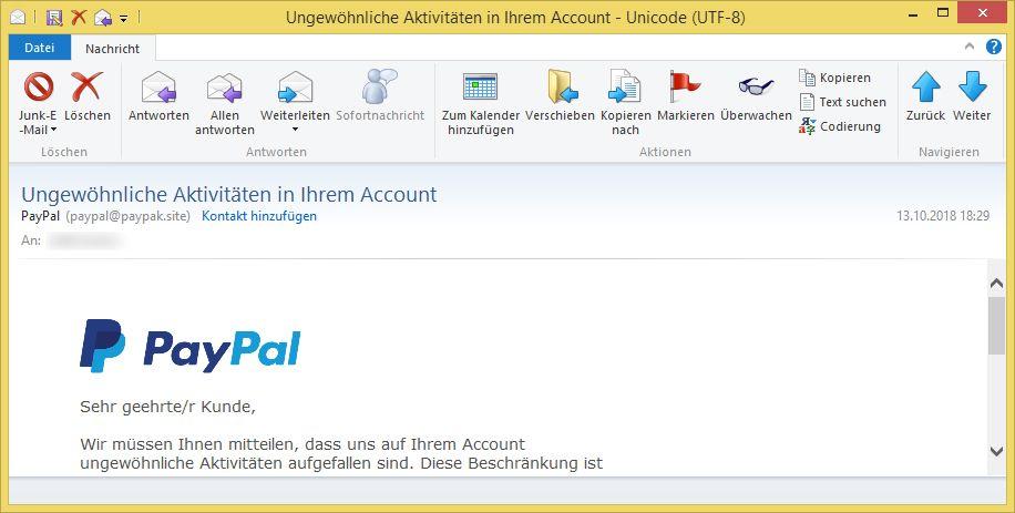 Paypal Account Verifizieren
