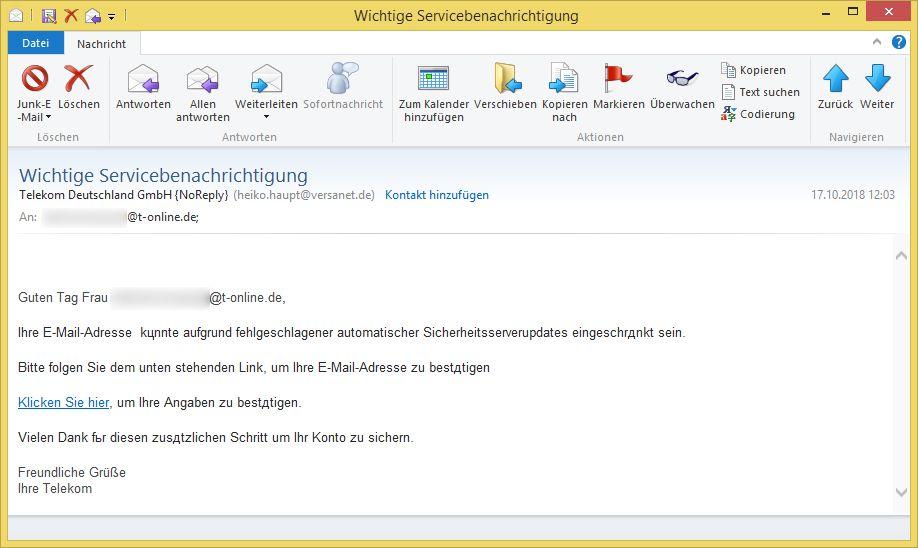 Versanet.De Email