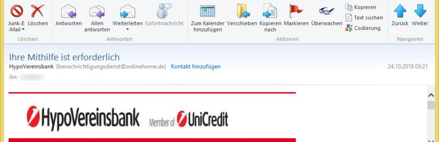 Hypovereinsbank Email