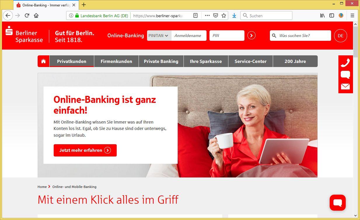 Ihr Sparkasse Online Banking wird eingeschränkt von Sparkasse ...
