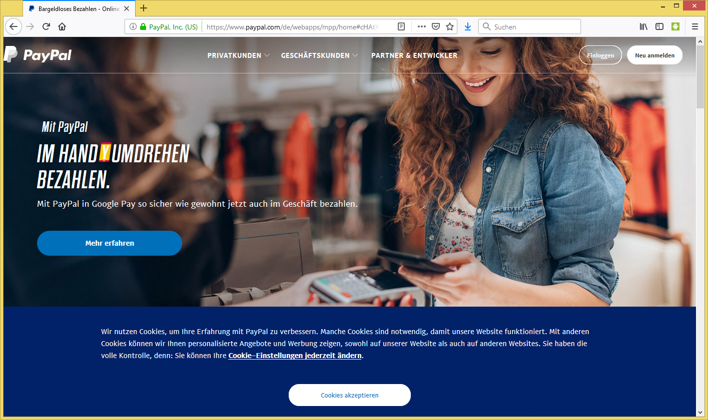 paypal personalausweis hochladen