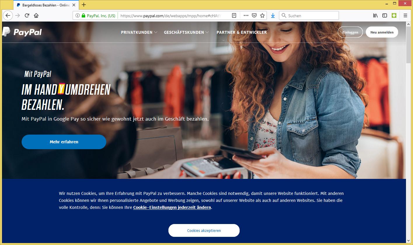 Paypal Wir Konnten Leider Ihre Zahlung Nicht Abschließen